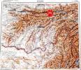 Карта Таджикистана, 10км-1см